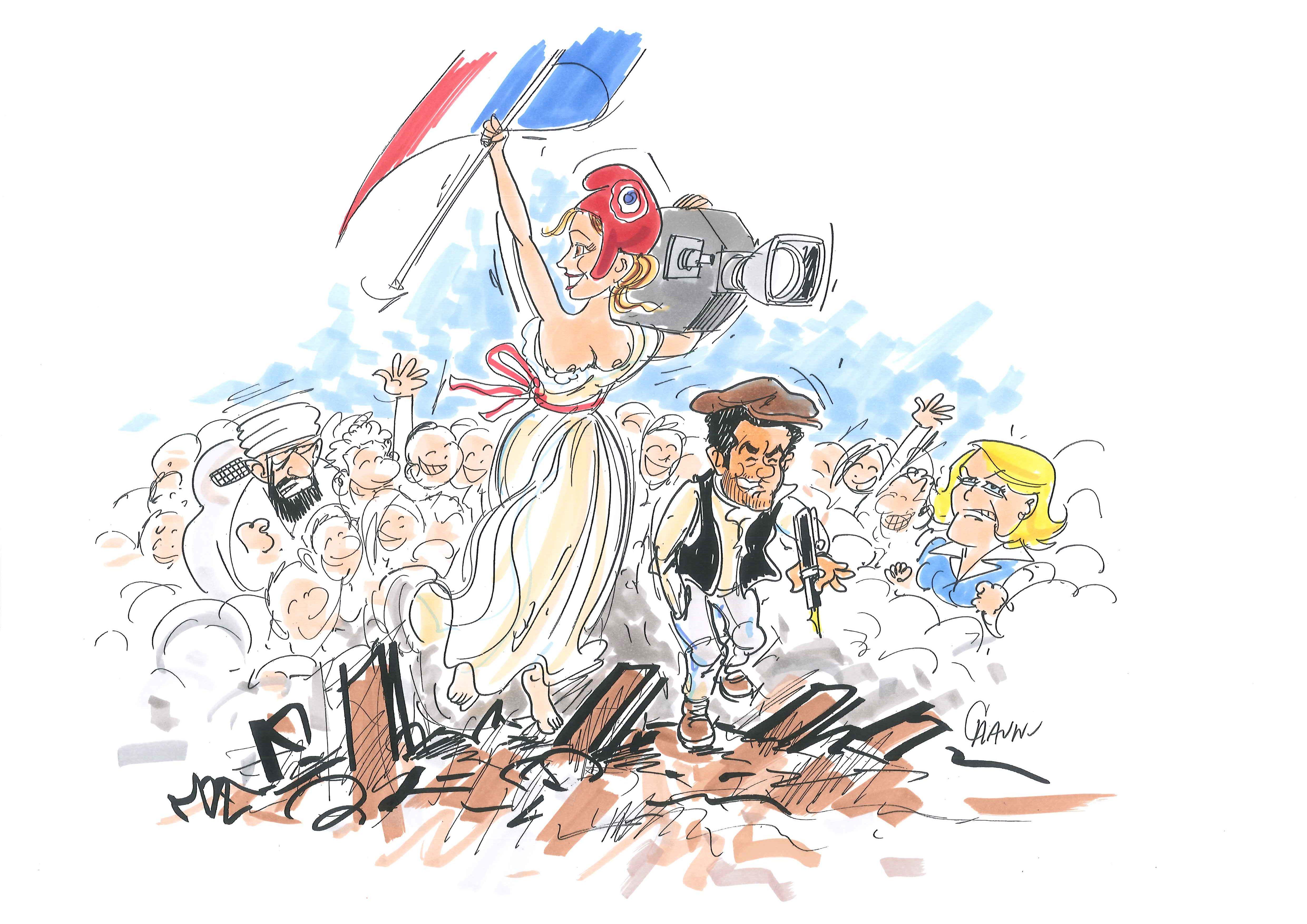 Chaunu vivement dimanche Lambert Wilson Jamel Debbouze